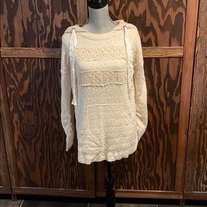 Free People knit pullover